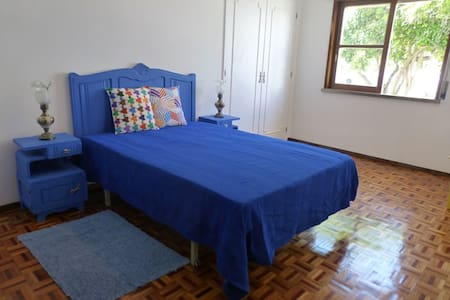 Quarto azul/The blue room/La chambre bleue - Appartement