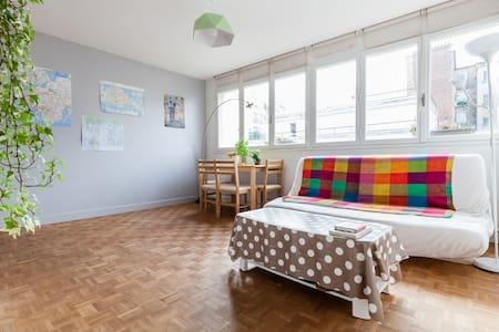 Bright Studio by City Hall - Asnières-sur-Seine - Apartment