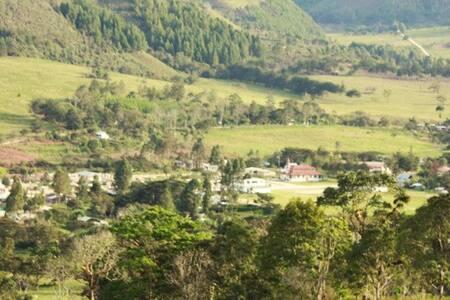 Cabaña en reserva biosfera UNESCO