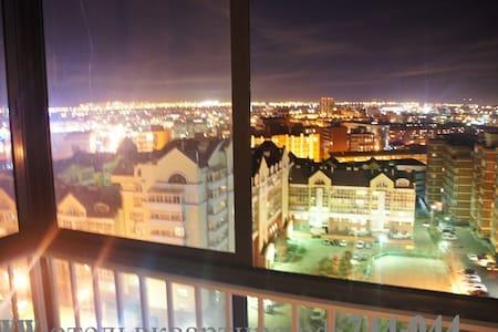 Шикарный вид на город Иркутск - Apartment