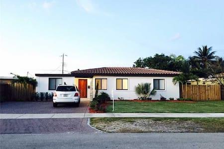 Hermosa y acogedora casa en el South West de Miami - Haus