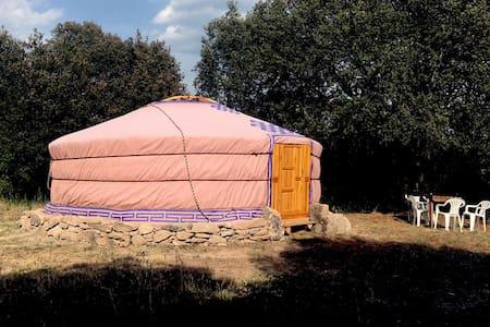 Yurta en una granja ecológica - Yurt