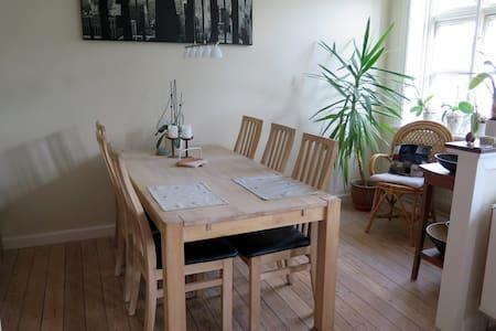 Cozy and quiet room in a big appartment - København - Apartment