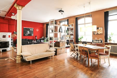 Beautiful Loft-Style room  - close to city center - Apartment