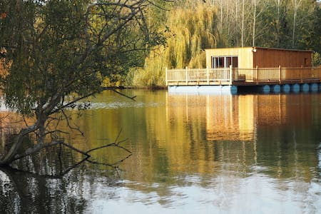 "Cabane flottante ""songes de Steph"" - Colleville"
