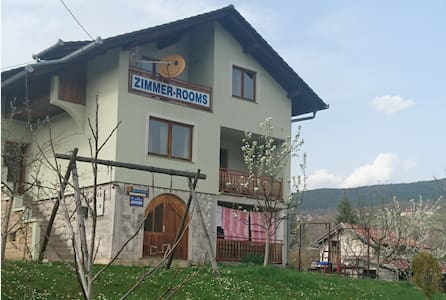 Private room near Pliva lakes - Haus