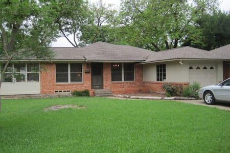 Sunny Home in East Dallas/Lakewood - Dallas