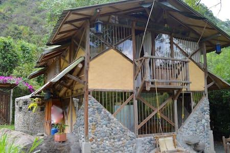 Hermosa cabaña en medio de la naturaleza - Dosquebradas - Rumah tumpangan alam semula jadi