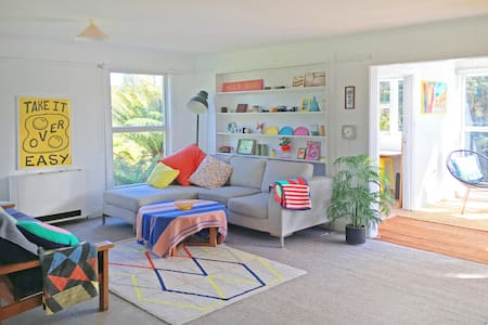 Beautiful 1960's beach shack - House