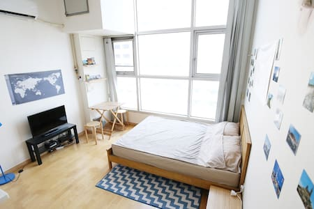 #02 Duplex Studio 지하철역 2분:2min from Subway Station - Apartment