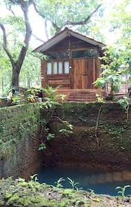 Honey Moon Special-Private Natural Pond View Cabin - Assagao - Cabin