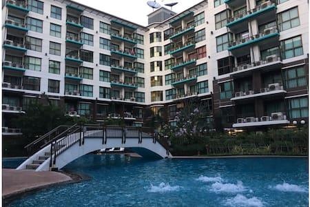 1BR, Swimming Pool View, 5th FL. - Pak Kret - Appartement