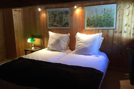 Eclectic Chalet Room  Le Tour at Ski Slopes - Chamonix - Bed & Breakfast