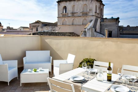 Suite with terrace in city center - Trapani - Bed & Breakfast