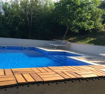 House ALLEGRA-charming poolhouse in Istra - Labin