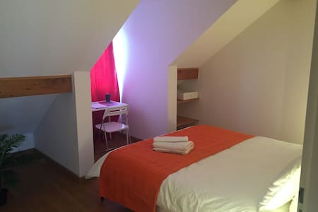 Charmante,  spacieuse, chambre - Appartement