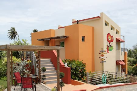 Oceanfront LOFT sleeps  2-4 people @ Fusion Beach - Isabela