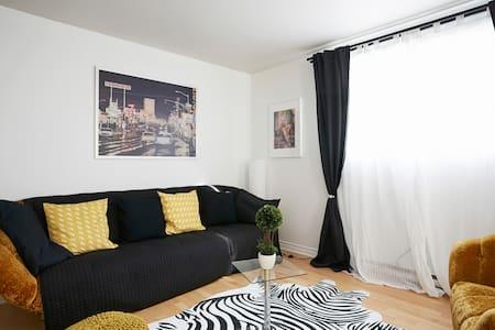 Superbes chambres,piscine chauffée,famille idéal!! - Appartamento