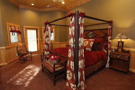 Toccoa Riverfront Luxury Guest Suite with King Bed - 獨棟