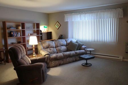 Quiet place with accents from home - Schererville - Appartement