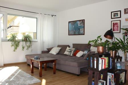 Große Wohnung im Allgäu und in Bodenseenähe - Lindenberg im Allgäu - Apartamento