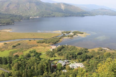 Located in the charming town of Ambleside, in the heart of the beautiful Lake District. The Lakes B&B offers mountain views and is only a 5-minute drive from Windermere, England's largest lake.  Guests can enjoy mountain views from all rooms