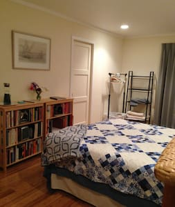Queensize bed, Prvt Bath, downtown - Hus