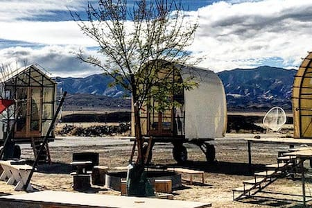 Quonset Hut at Blue Sky Center - New Cuyama