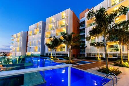 Cloc Residence Loft- Vista Baía de Todos os Santos - Loft