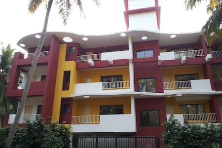 2 Bhk cozy apt Near Park Hyatt Goa - Appartamento