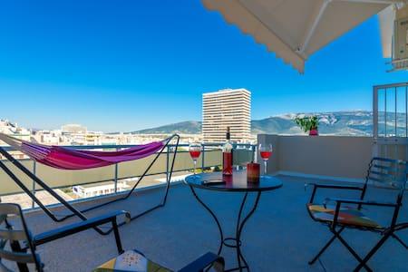 Perfect view studio 6' city center - Apartment