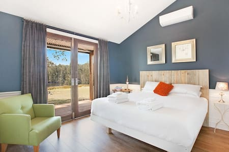 Hunter Valley Private Vineyard Villa King Bed Spa - Belford - Villa