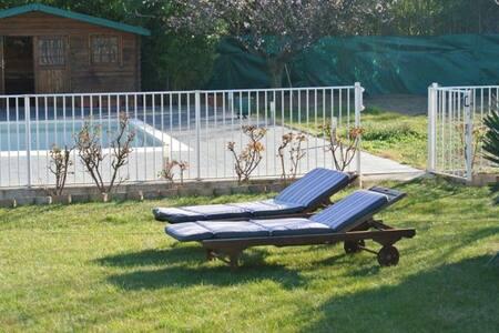 Agréable villa avec grande piscine