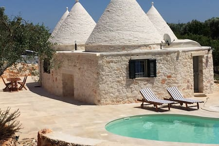 Traditional yet modern Trullo - Brindisi