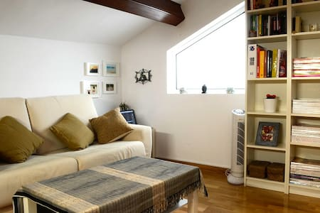 Cozy loft at Sitges center, 1 min to the beach!