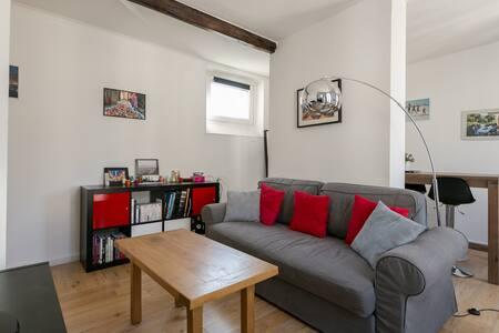 Appartement agréable à 3' de Paris - Lejlighed