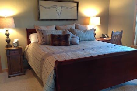 Private King Suite at  Brasada Ranch Resort - Cabin