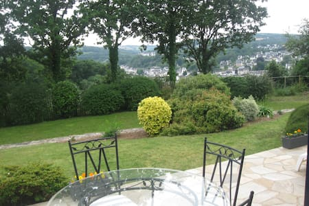 VUE PANORAMIQUE SUR L'AULNE MARITIME - Chateaulin - Bed & Breakfast