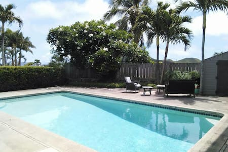 Junior Master In charming 4bd. Pool - Kailua - House