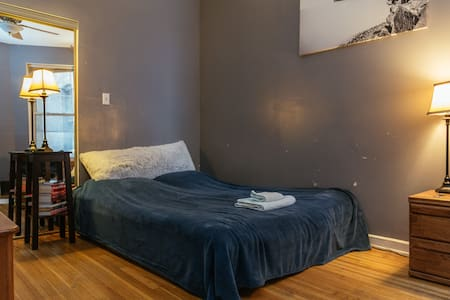 Cozy/beach/free parking in street ROOM 2 - Chicago - Appartement