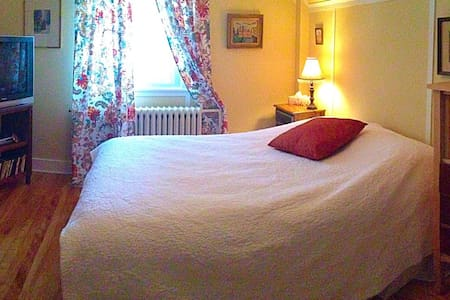 Beautiful room, comfortable, free parking and wifi - Ház