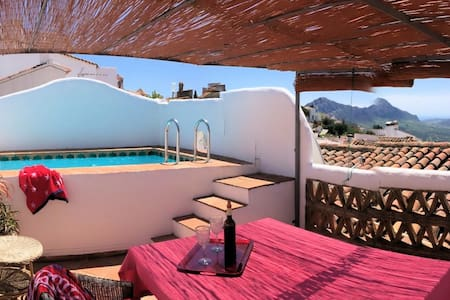 Charming Village house with roof terrace pool - Casa