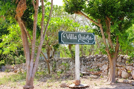 Beautiful & Quiet Mexican Villa - Xcucul Sur