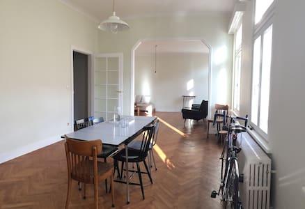 Bright room in city centre