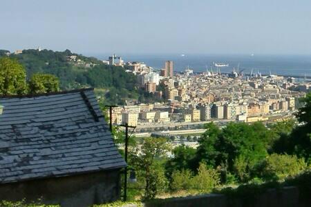 Sulle alture di Genova a 20 minuti dal centro - Lejlighed