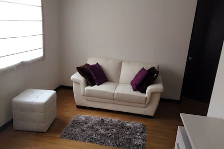 Beautiful and cozy one bedroom apartment in Bogotá - Daire