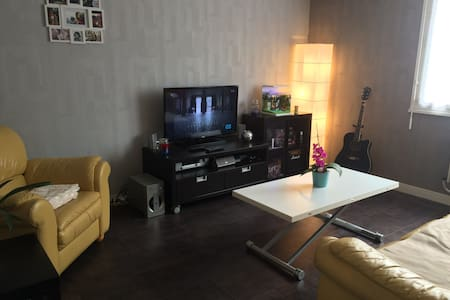 Appartement 50m² à 100 mètres de Nancy + parking. - Apartament