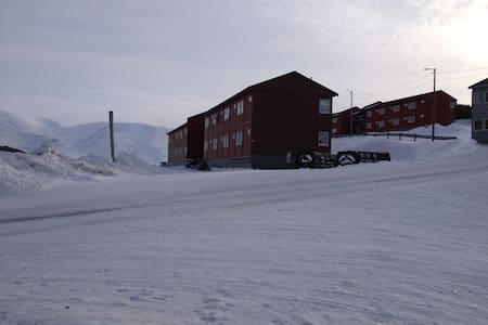 Apartment close to city center of Svalbard - Apartamento