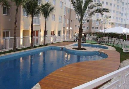 Quartos em Apartamento Garden em Condomínio Clube - Curitiba