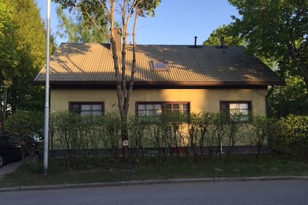 A large house with a garden, centre - Lappeenranta - Casa
